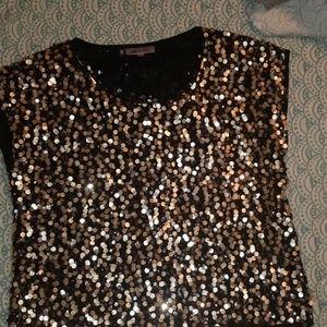 Jennifer Lopelez sparkle sequin top